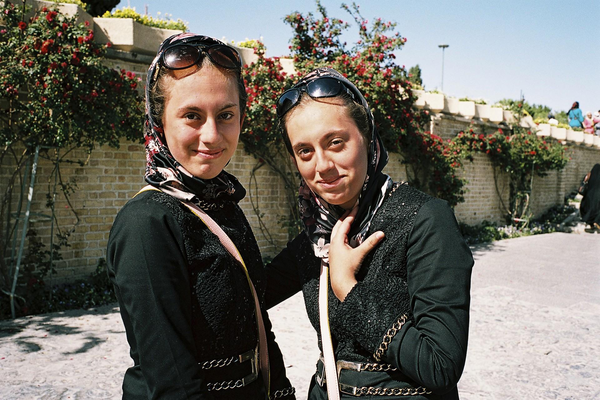 Soeurs jumelles iraniennes