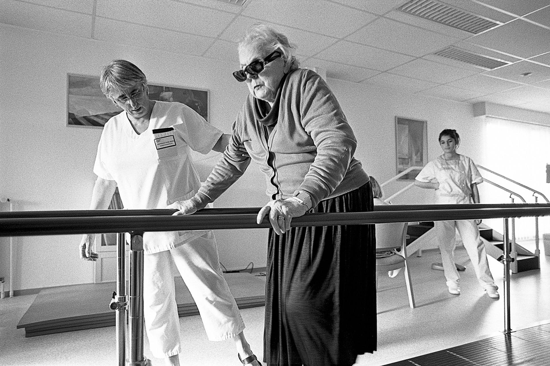 24 heures dans la vie d'un centre de gérontologie clinique
