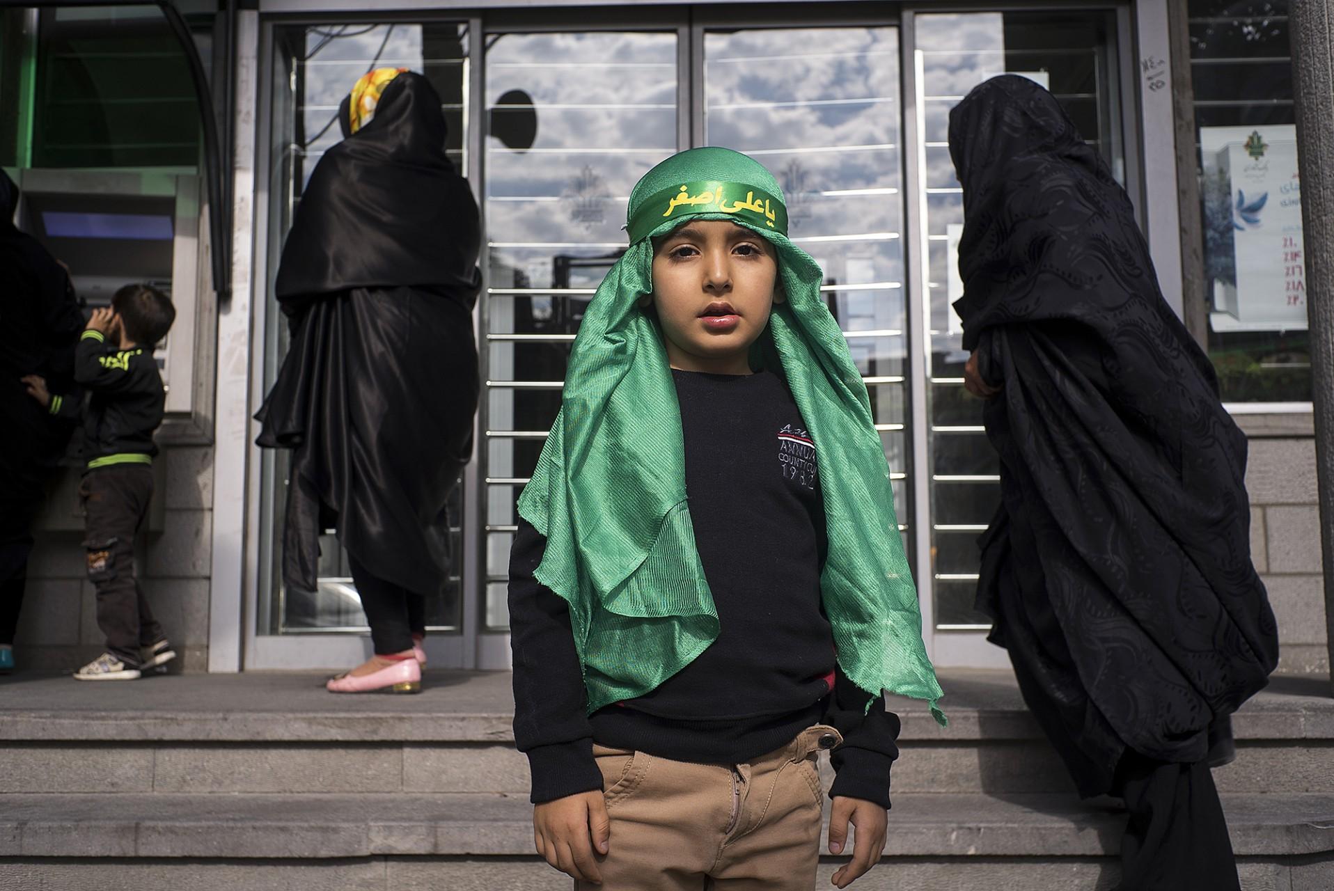Portraits d'enfants de Tabriz
