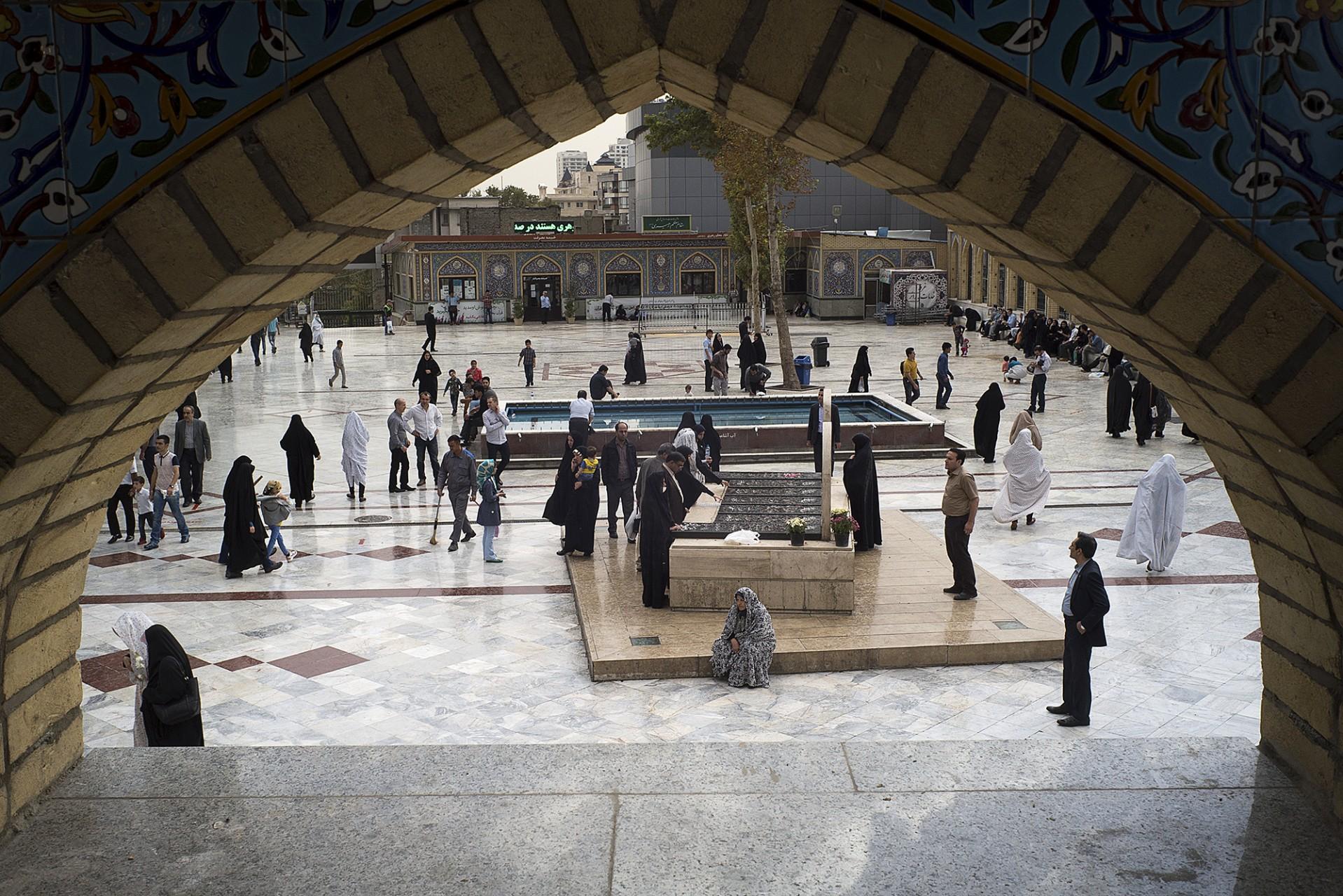 La mosquée de Tajrish