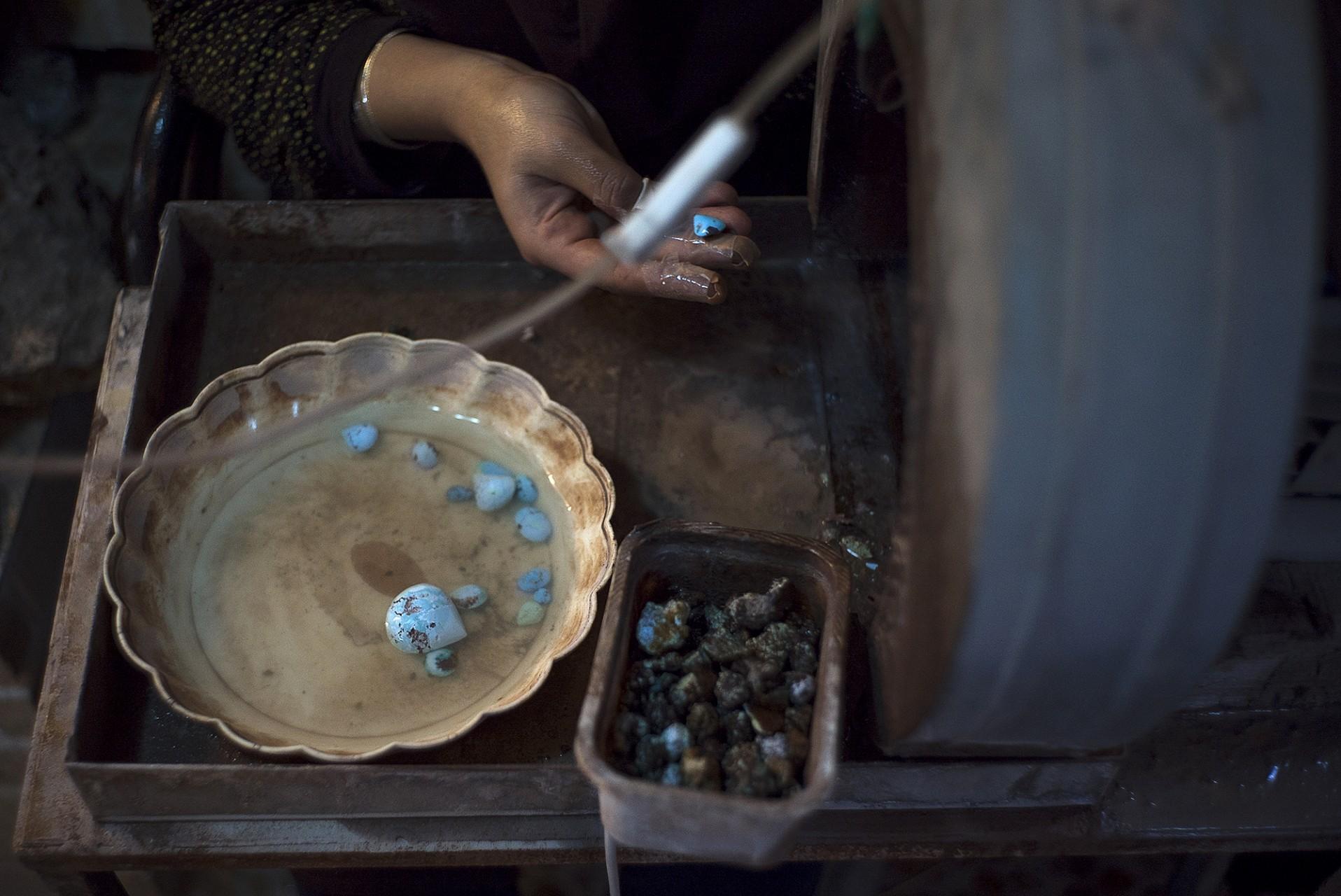 Les turquoise de Nishapur