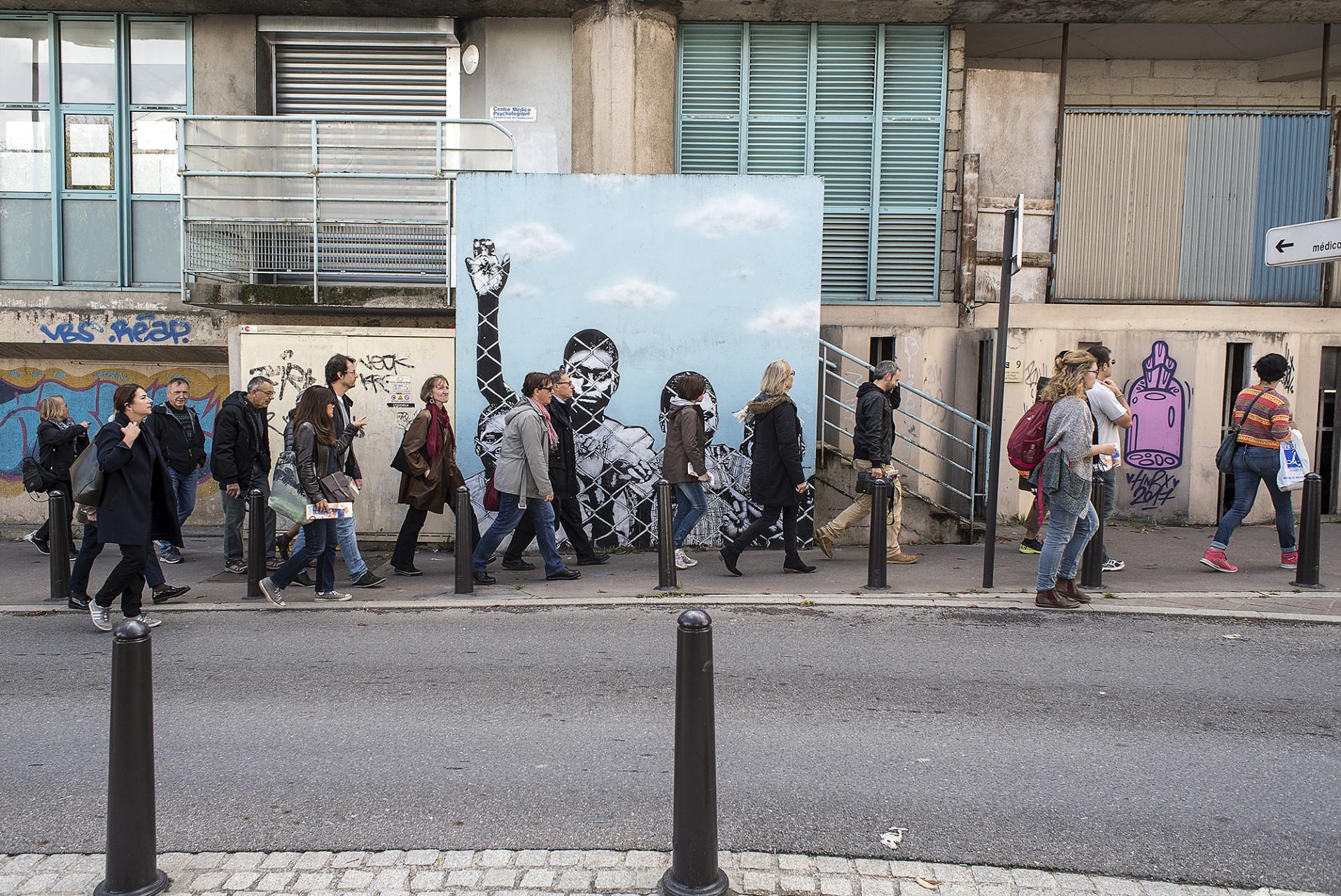 Balade urbaine Mur Mur