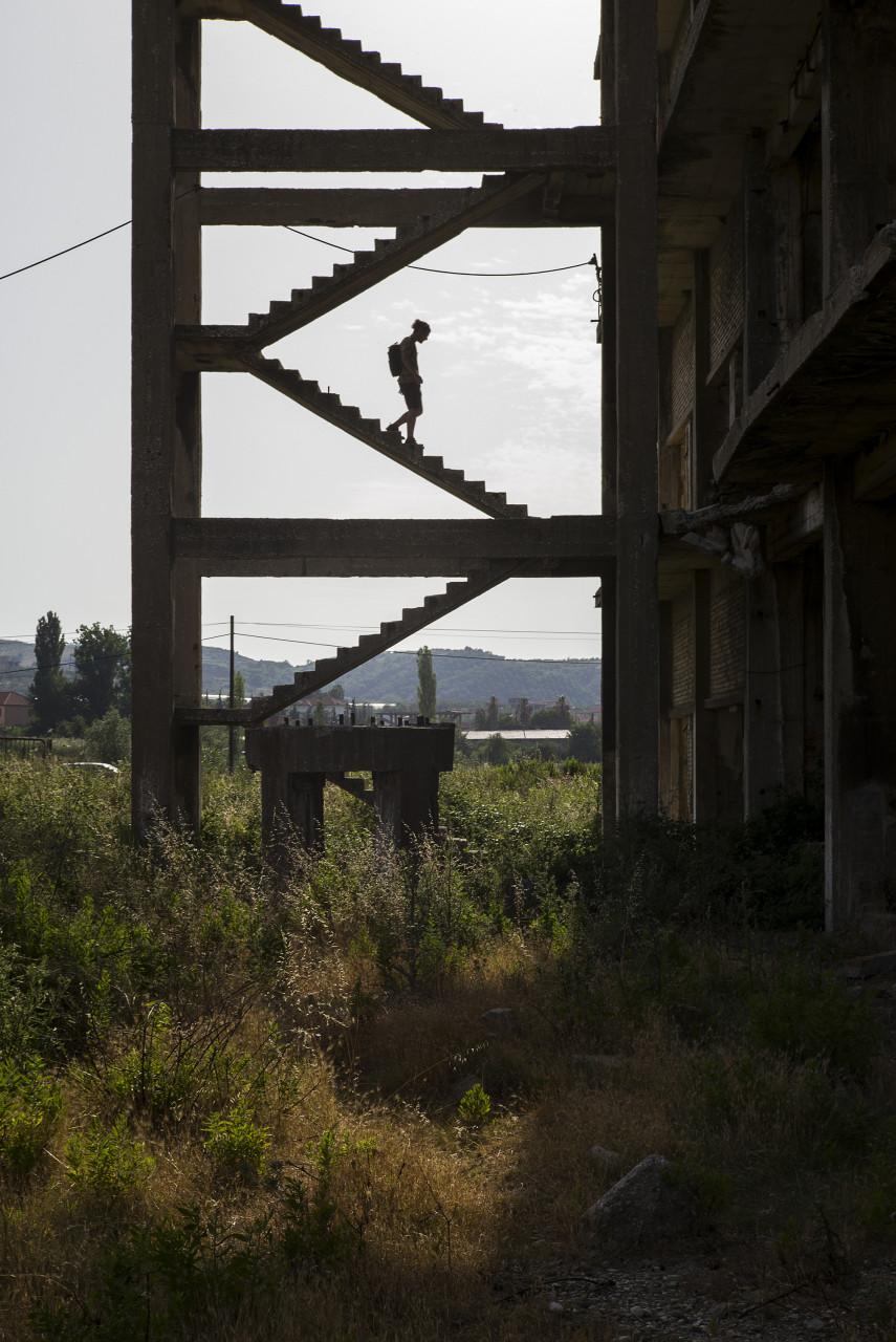 Exploration urbaine en Albanie