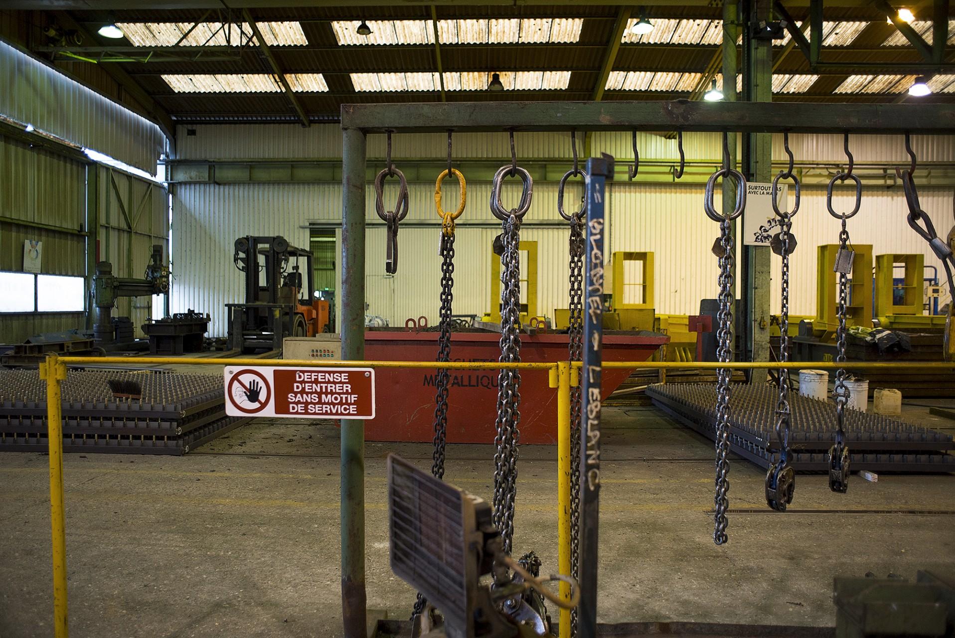Fabrication de la passerelle et des tabliers pour Clamart