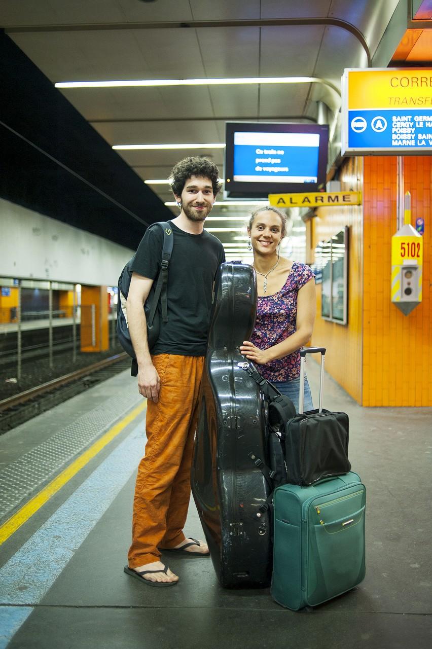 Portraits de voyageurs