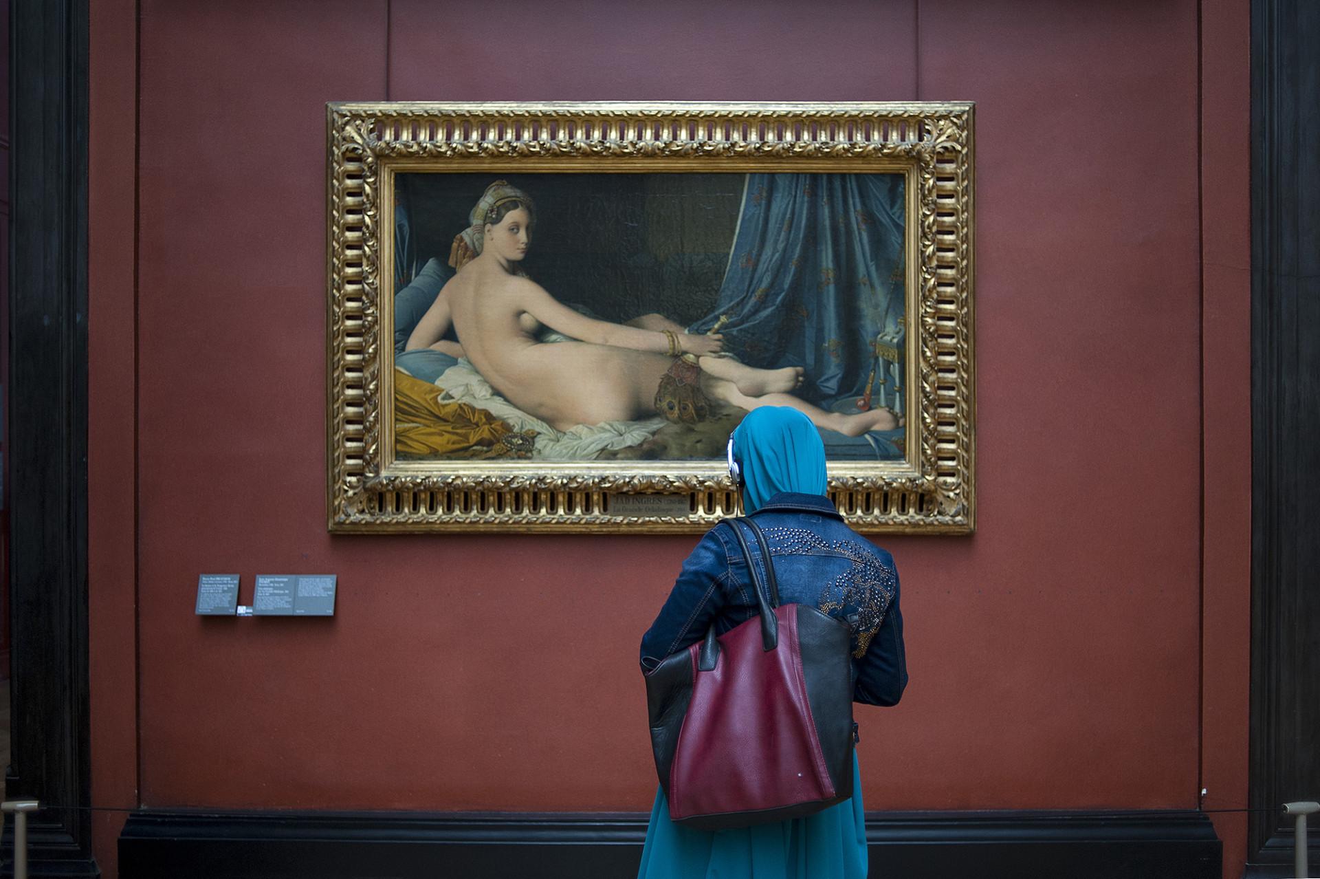 Visite du Louvre de l'association Les Monis