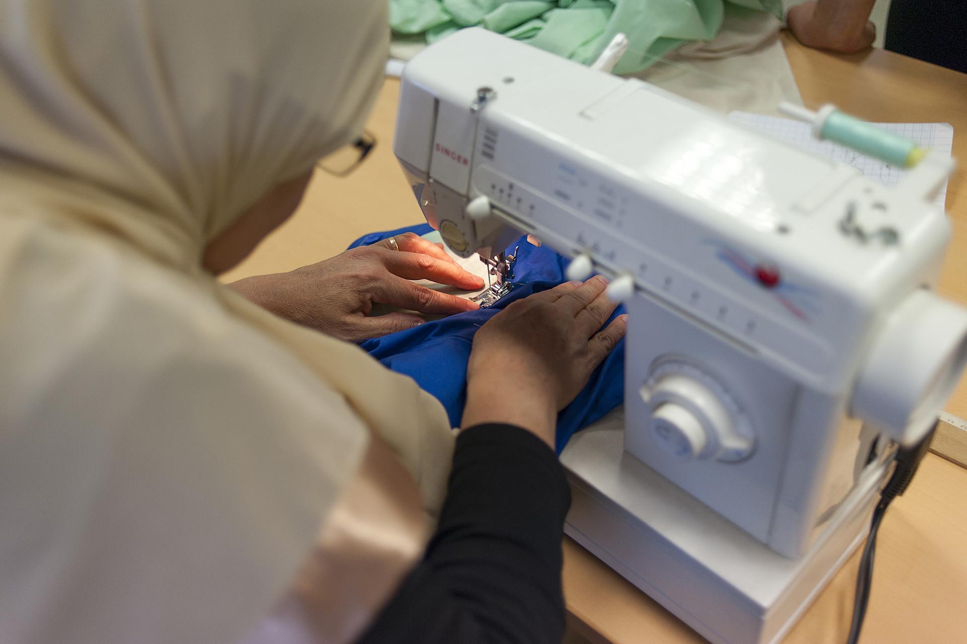 Atelier couture d'alternatiba