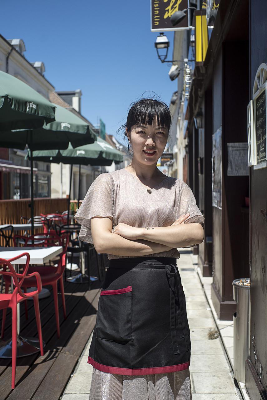 Tina Lin, gérante de restaurant - Pour Le Monde - juillet 2019