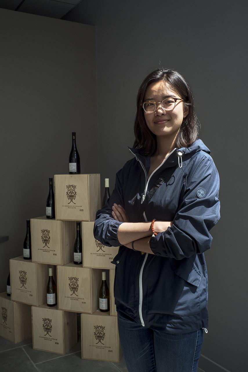 Yidan Su, étudiante et hôtesse d'accueil - Pour Le Monde - juillet 2019