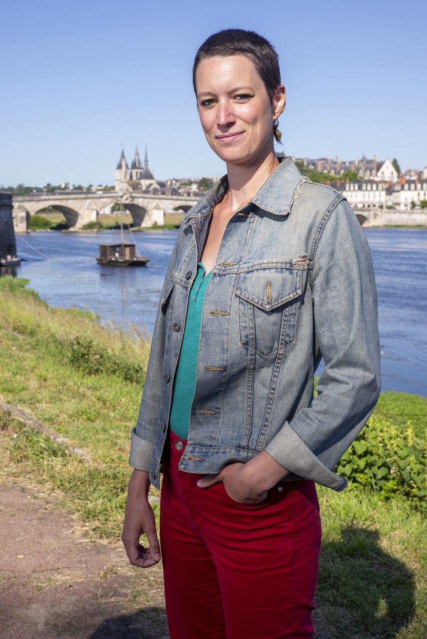 """Agathe Gourdault-Montagne, fondatrice de """"Visites ludiques"""" - Pour Blois Mag - juin 2020"""