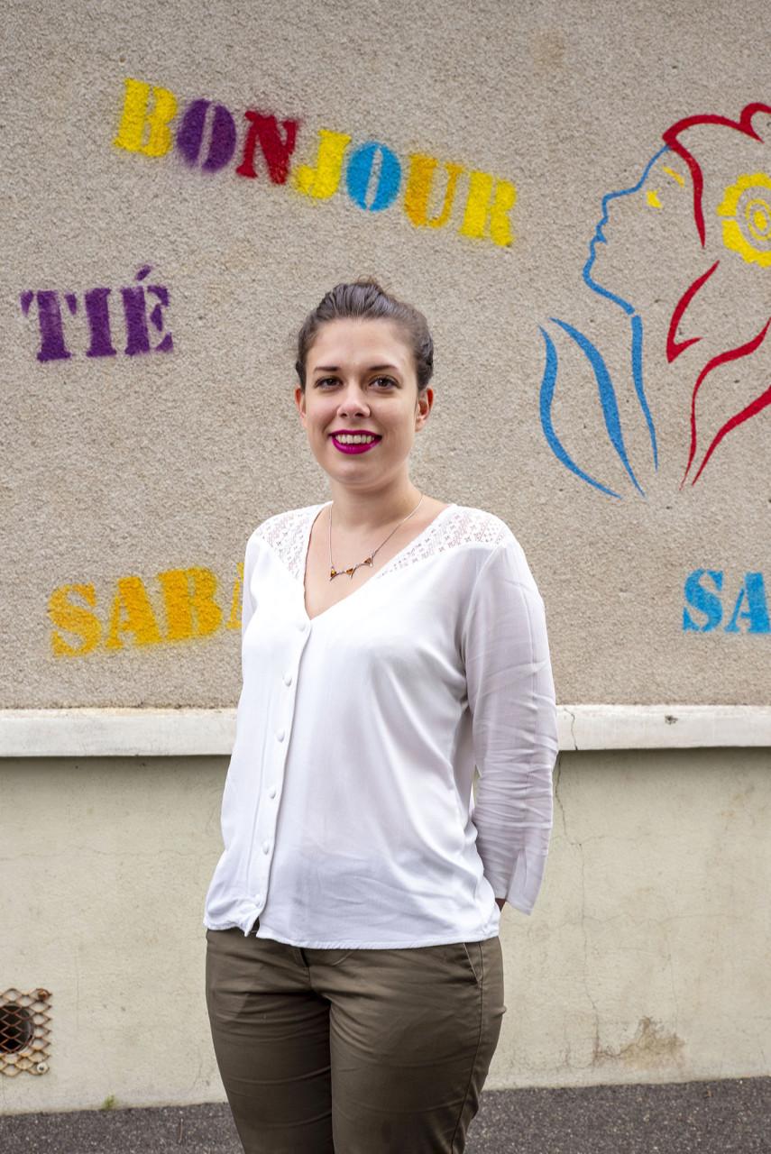 Chloé Garrel, directrice et professeur des écoles - Pour Blois Mag - juin 2020