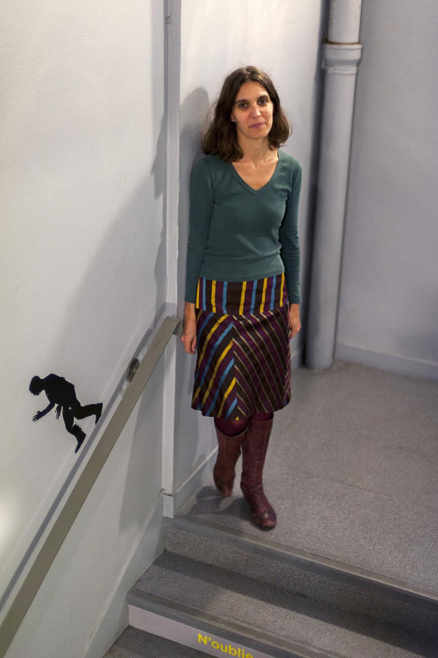 Florence Lhomme, coordinatrice et professeur au Micro-lycée Jean Macé - Pour Vitry Le Mensuel - décembre 2014