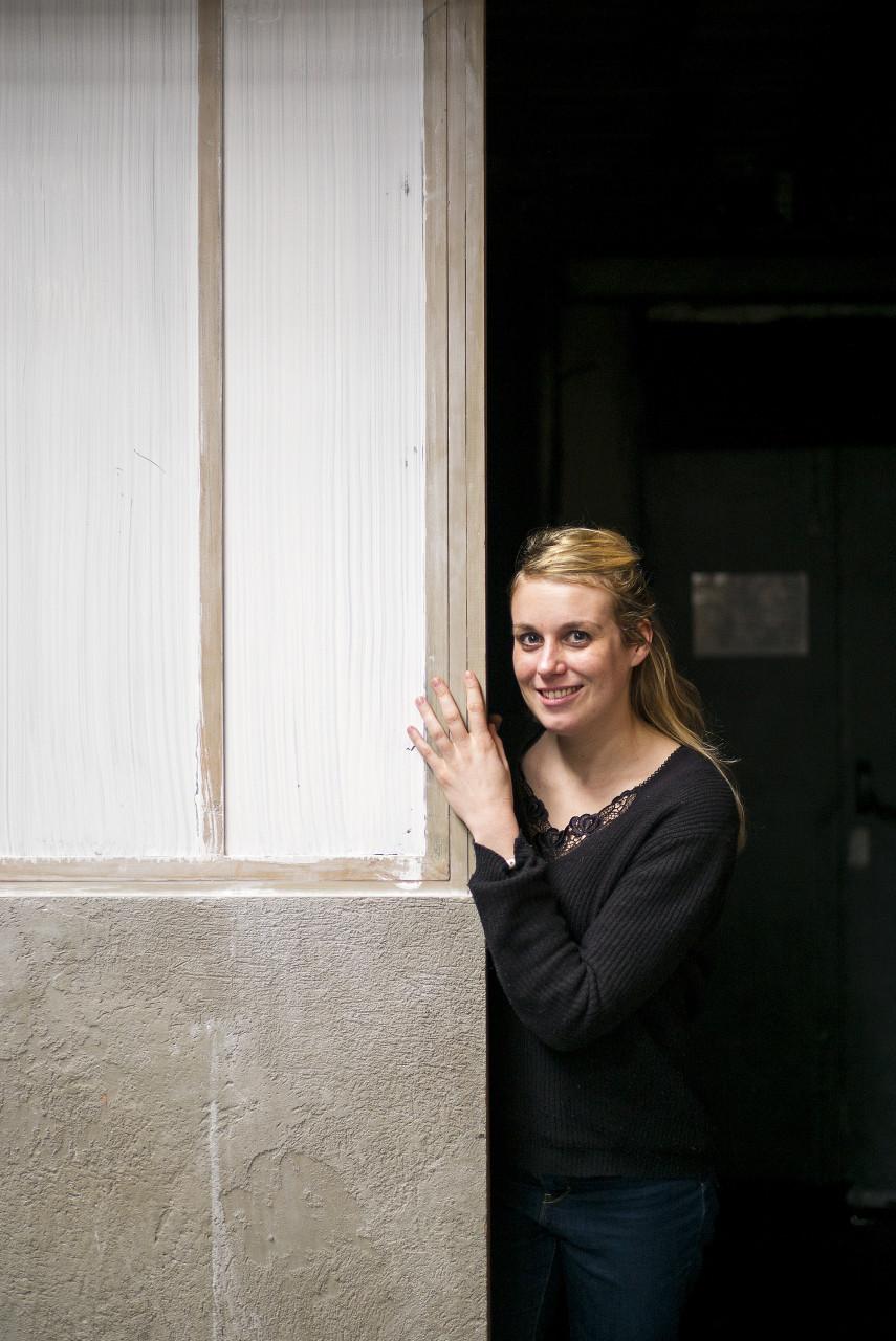 Clara Chabalier, comédienne - Pour Vitry Le Mensuel - mars 2017