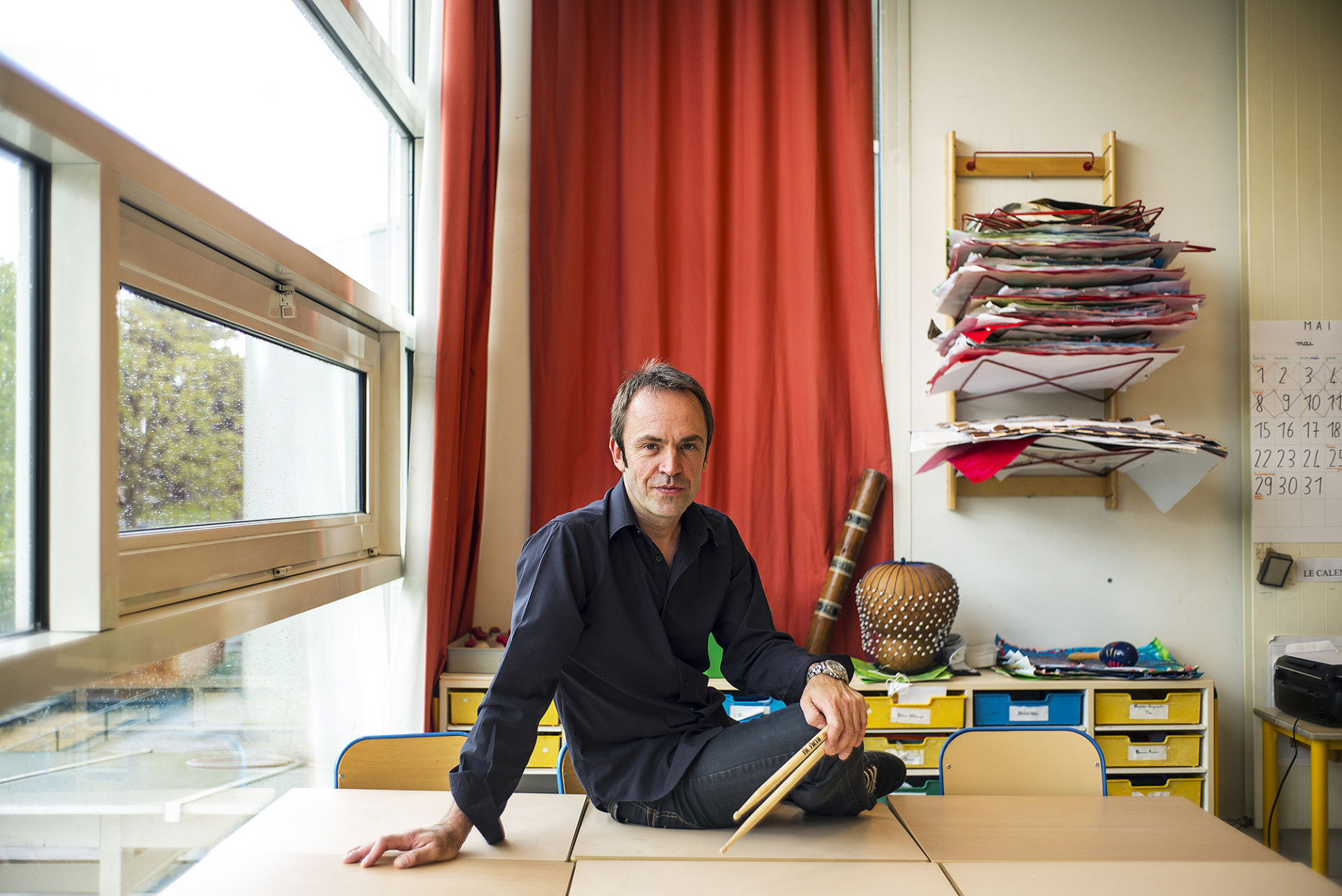 Franck Ballier, musicien - Pour Vitry Le Mensuel - mai 2017