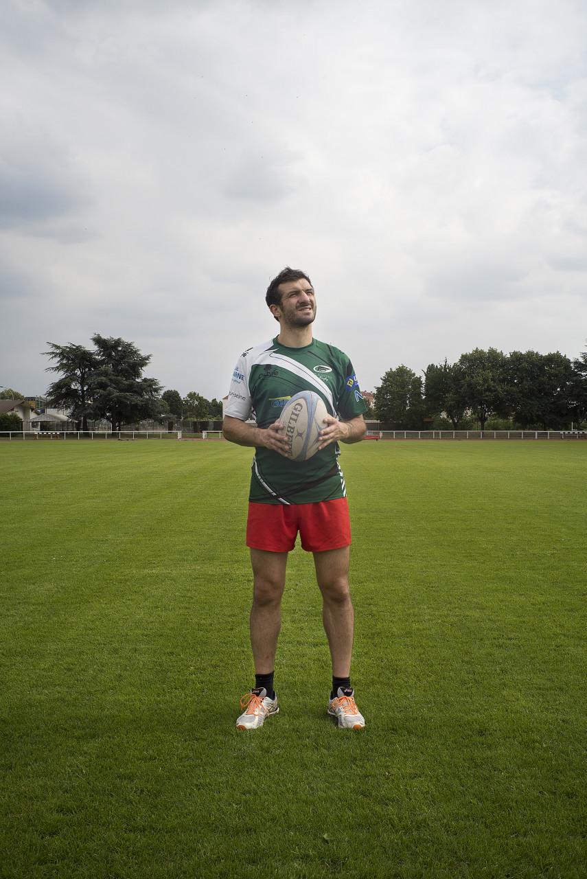 Guillaume Bos, responsable de la section Rugby de Vitry - Pour Vitry Le Mensuel - juillet 2016