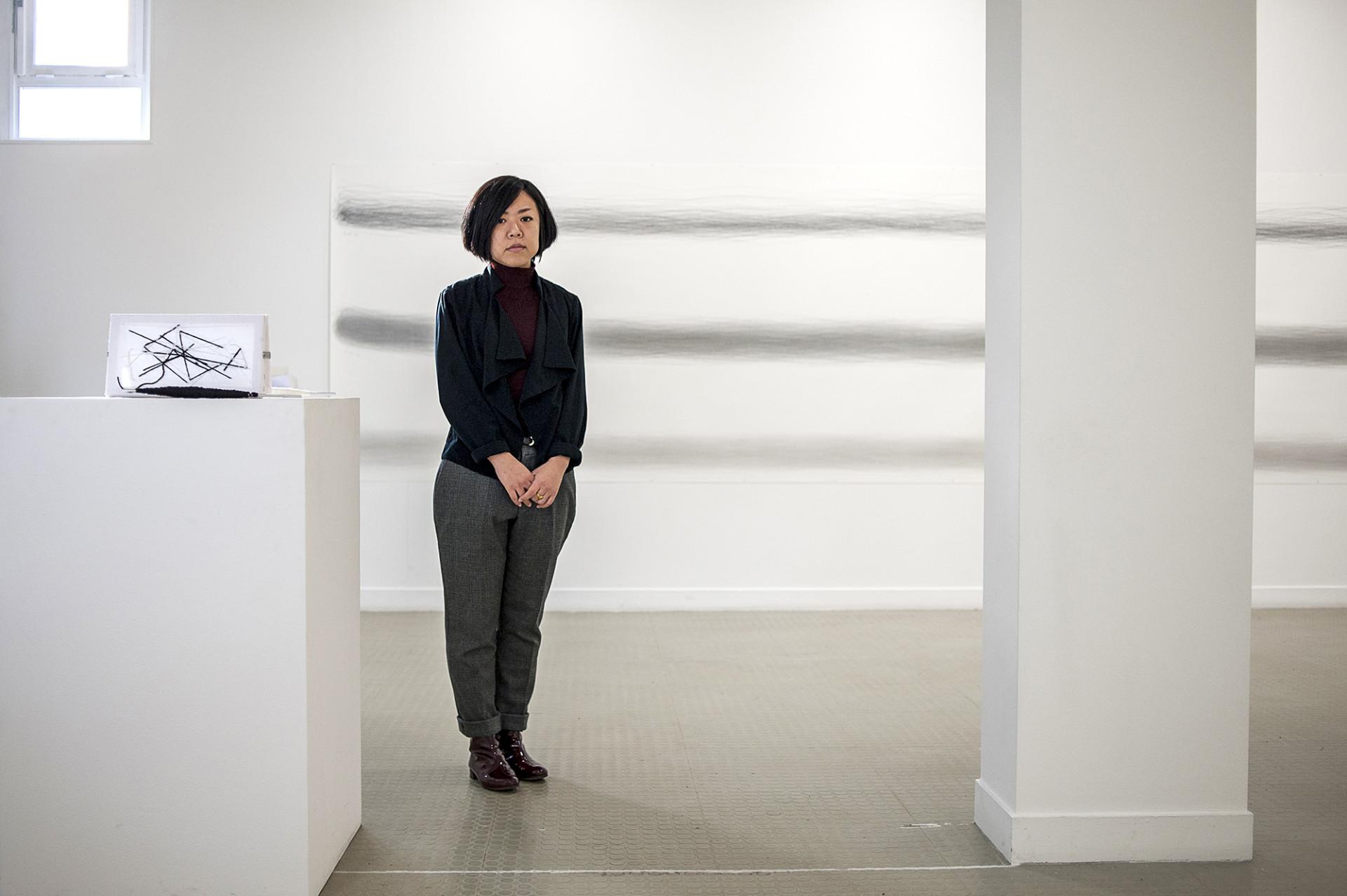 Zhao Duan, artiste - Publication Vitry Le Mensuel - février 2014