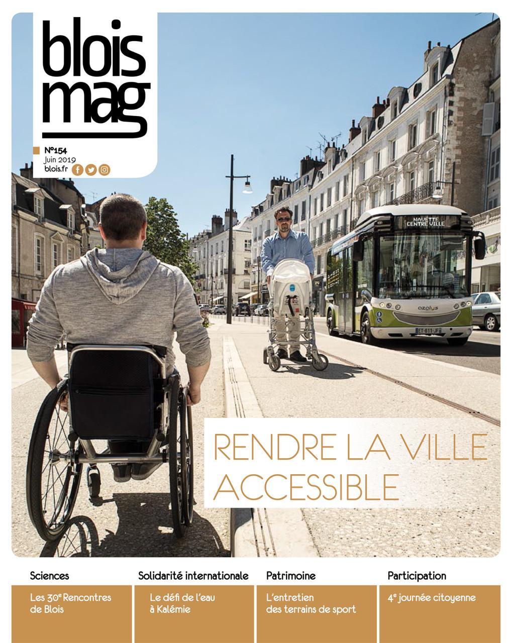 Parution en Une du Blois Mag de juin 2019 : Photo © Nicolas Wietrich