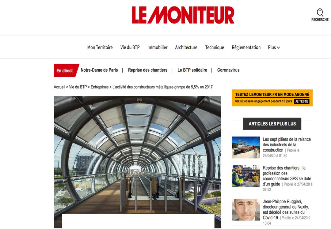Publication web Lemoniteur.fr de 2017 : Photo © Nicolas Wietrich