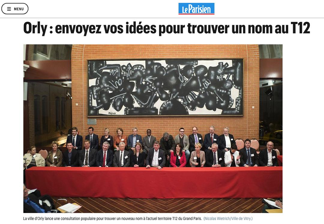 Publication web leparisien.fr du 14 mars 2016 : Photo © Nicolas Wietrich